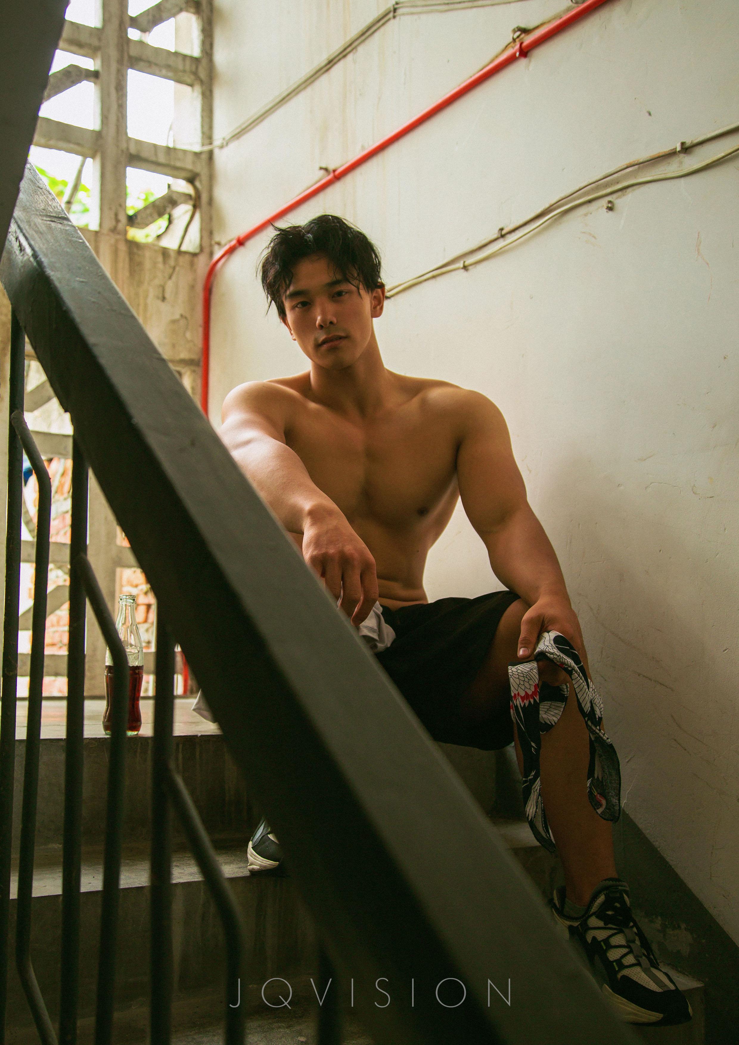 JQVISION 06 | Zeng Haoran, 6 múi đẹp trai quyến rũ