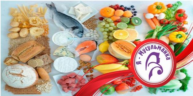 Что съесть во время сухура?