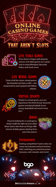 Expand your online casino repertoire with these alternative games