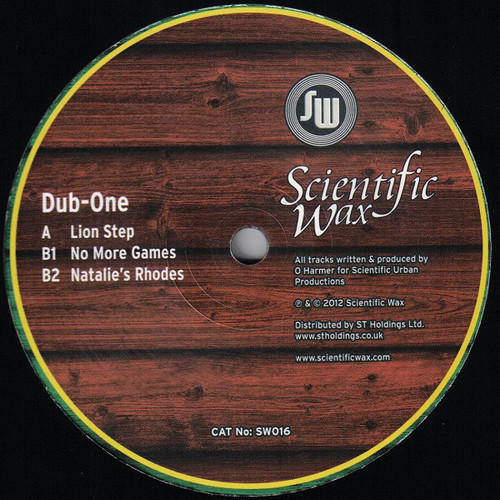 Dub One - Lion Step / No More Games / Natalie's Rhodes 2012