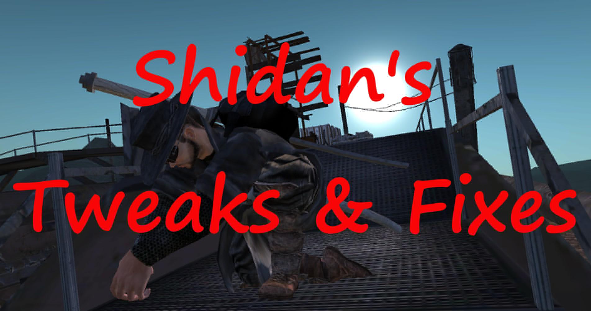 Shidan's Tweaks & Fixes / Исправления от Шидана