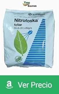 Abono foliar de primavera para olivos, Nitrofoska 24+8+20 5kg
