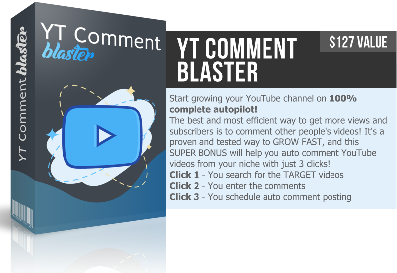Youtube Comment Blaster