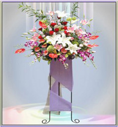bunga standing florist jakarta