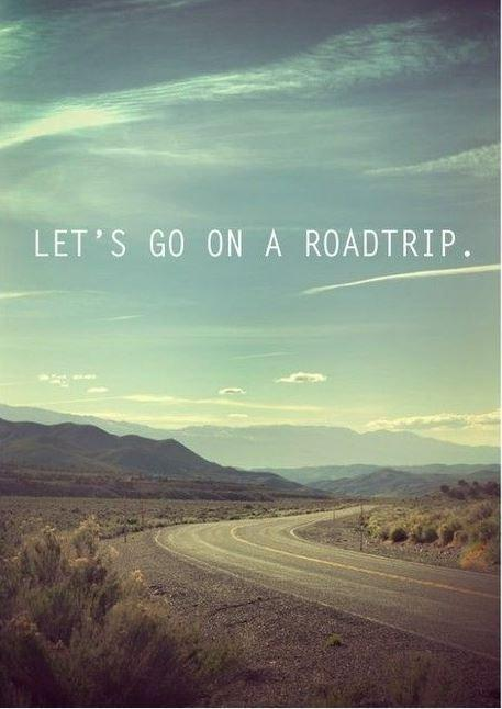 lets go on a road trip