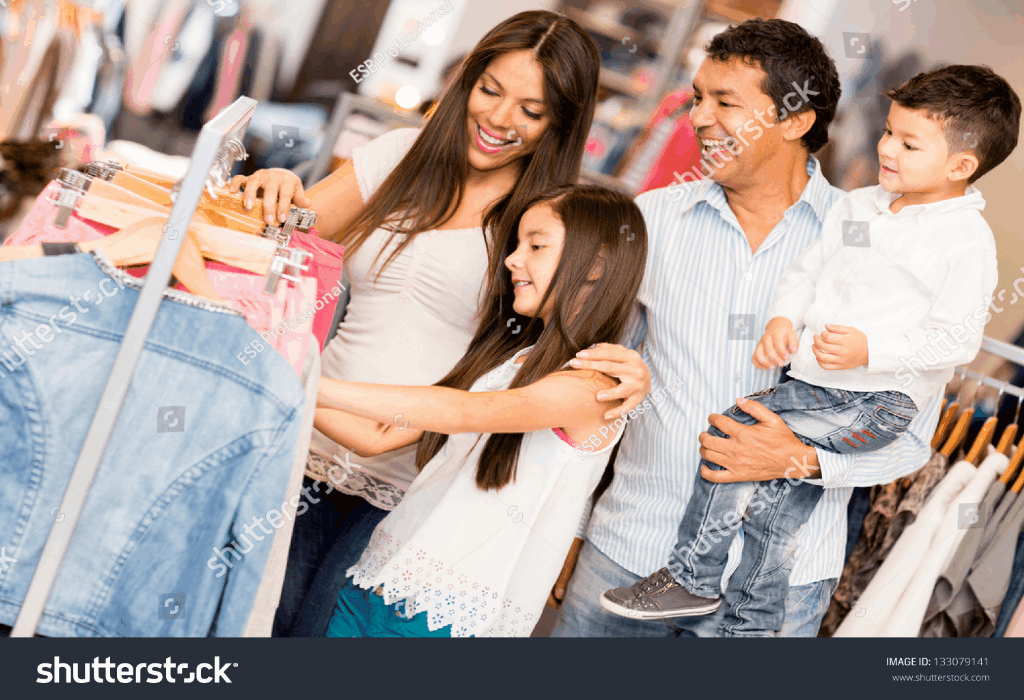 Shopping Clothes