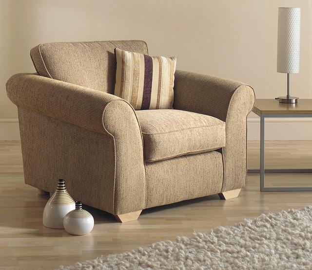 beautiful armchair and decor