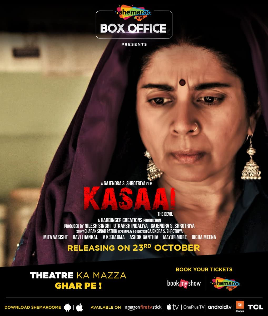 Kasaai 2020 Hindi Full Movie 720p HDRip 700MB | 300MB Watch Online