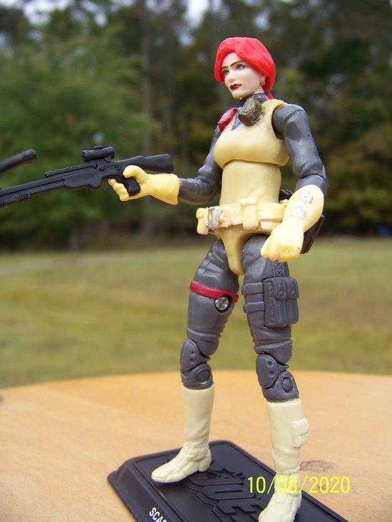 2020 Retro Scarlett figure modified