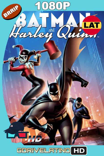 Batman y Harley Quinn (2017) BRRip 1080p Latino-Inglés MKV
