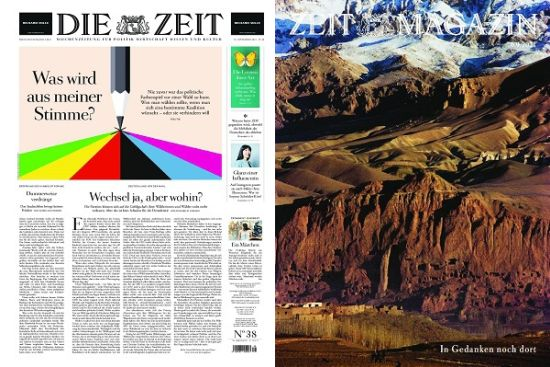 Cover: Die Zeit mit Zeit Magazin No 38 vom 16  September 2021