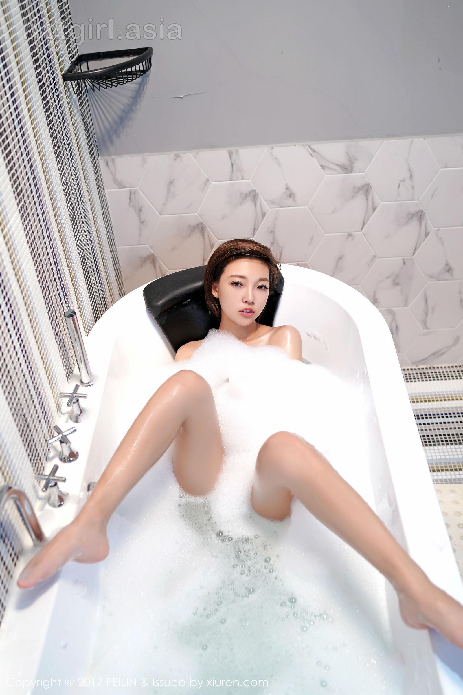 [FEILIN 囲 囡囡] Vol.118 Short Hair Girl @ 冯 木木 LRIS latest sexy photo