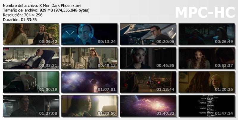 X: Men: Dark Phoenix Capturas