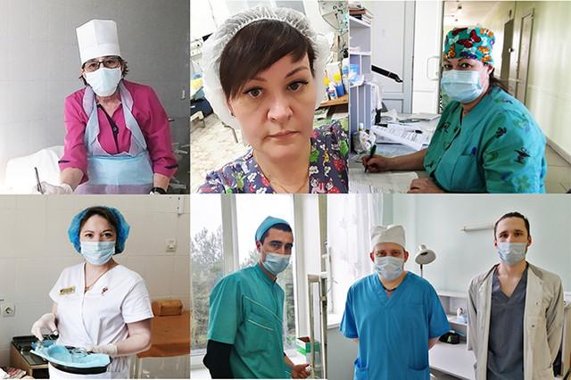 Медсестры и медбратья Краснотурьинской гродской больницы