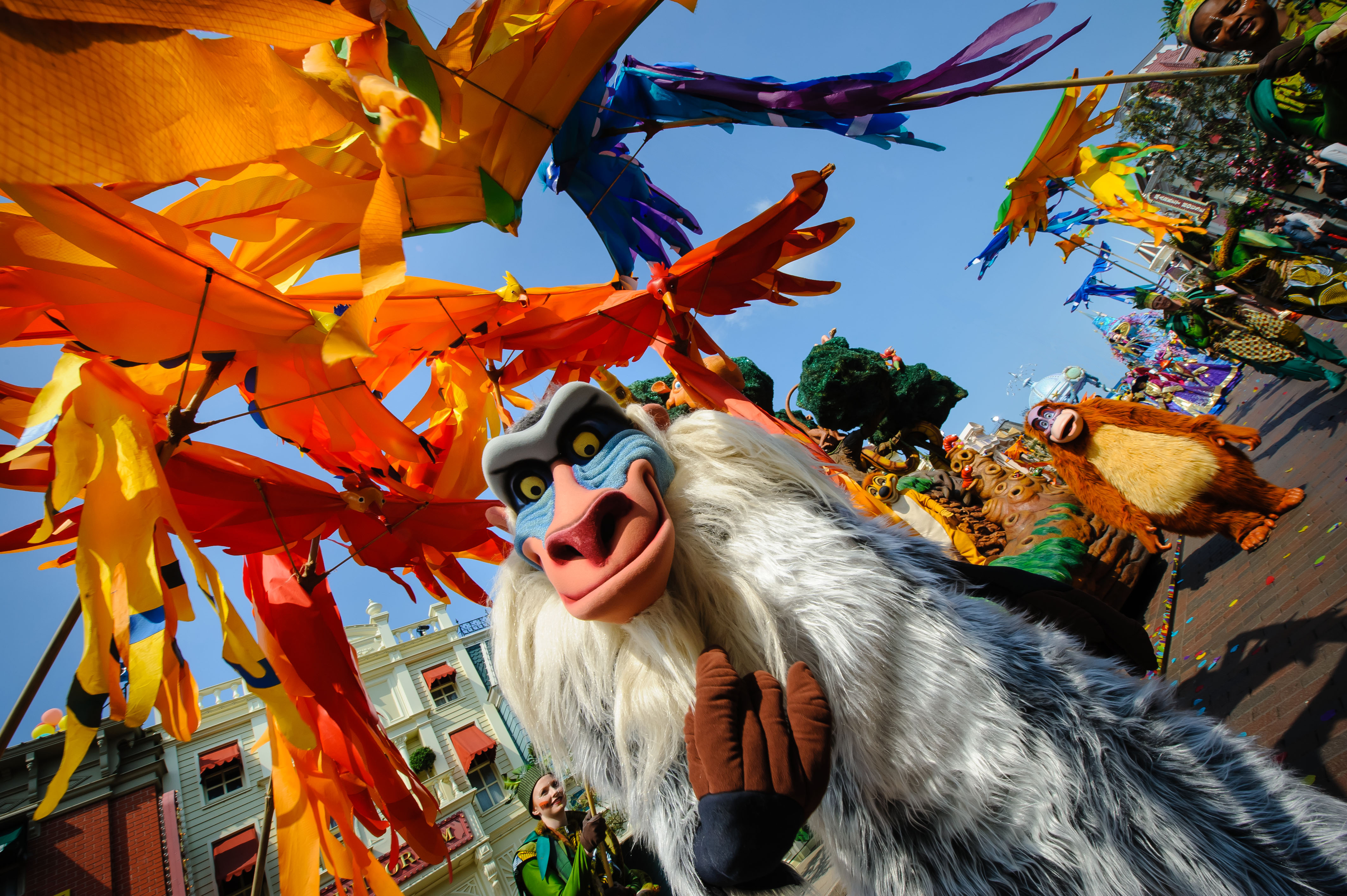 Rafiki at the Lion King and Jungle Festival