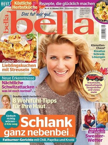 Cover: Bella Frauenmagazin No 41 vom 06  Oktober 2021