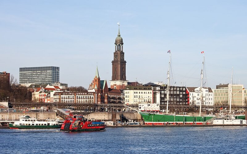 Hamburg city photo