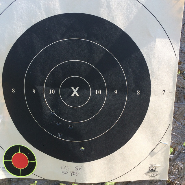 Does sandbag resting a pistol affect point of impact? IMG-6770