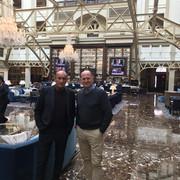 Luciano Capicchioni and John Kern in Washington DC