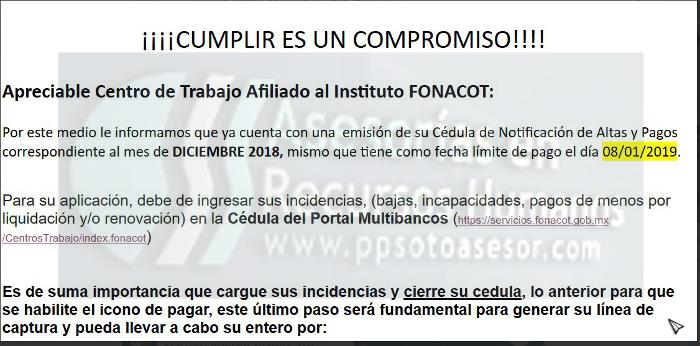 correo de #Infonacot