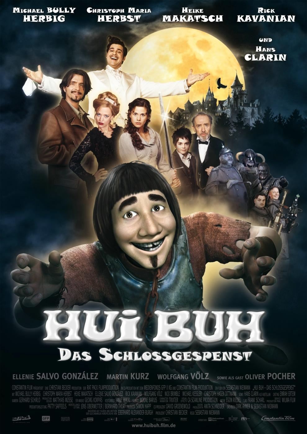 Hui Buh The Castle Ghost 2006 Hindi Dual Audio 720p BluRay ESub 1.3GB | 500MB Download