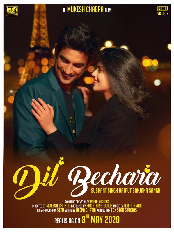 Dil Bechara (2020) Hindi 480p WEB-DL x264 AAC 400MB