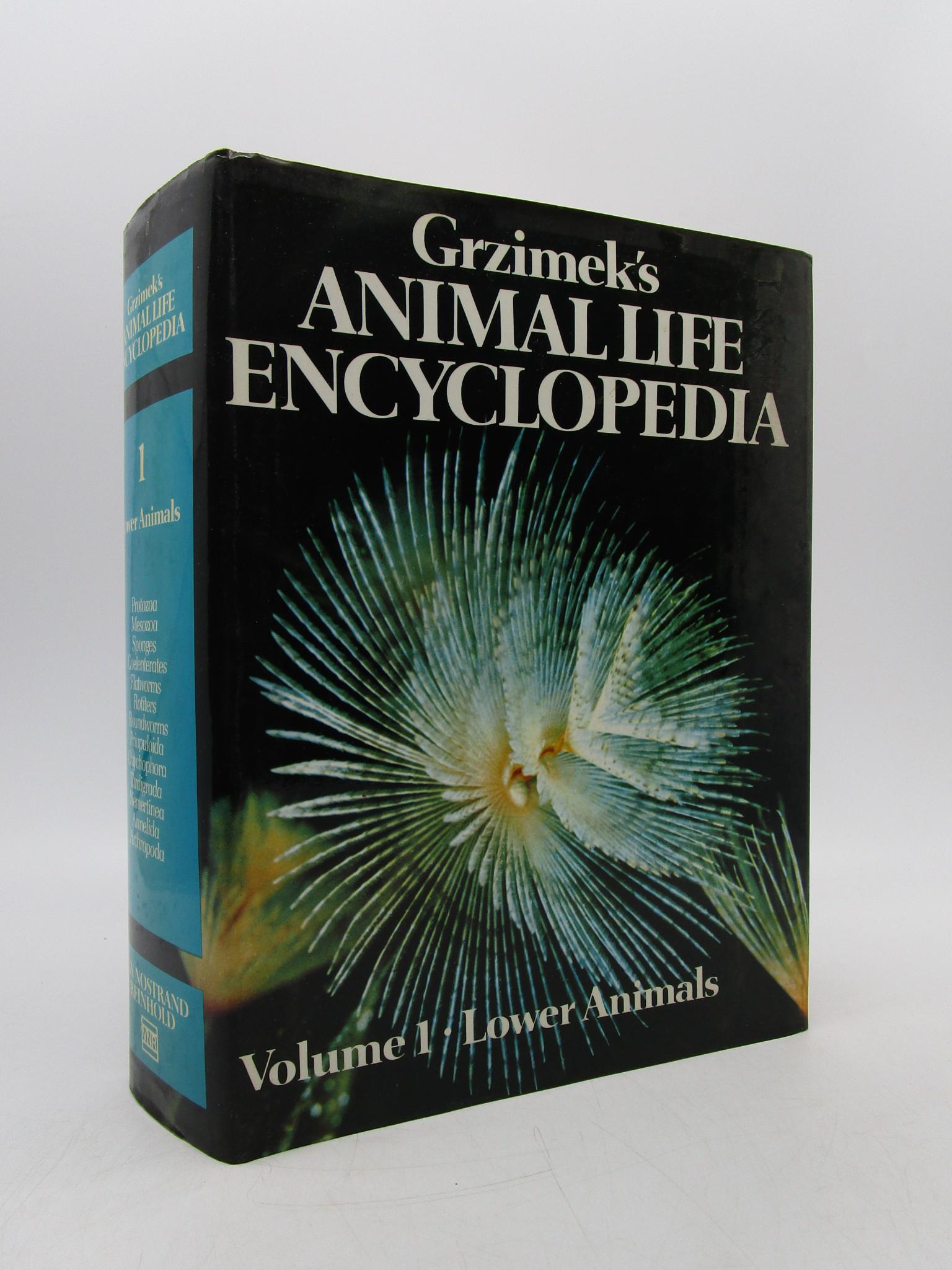 Image for Grzimek's Animal Life Encyclopedia, Volume 1, Lower Animals
