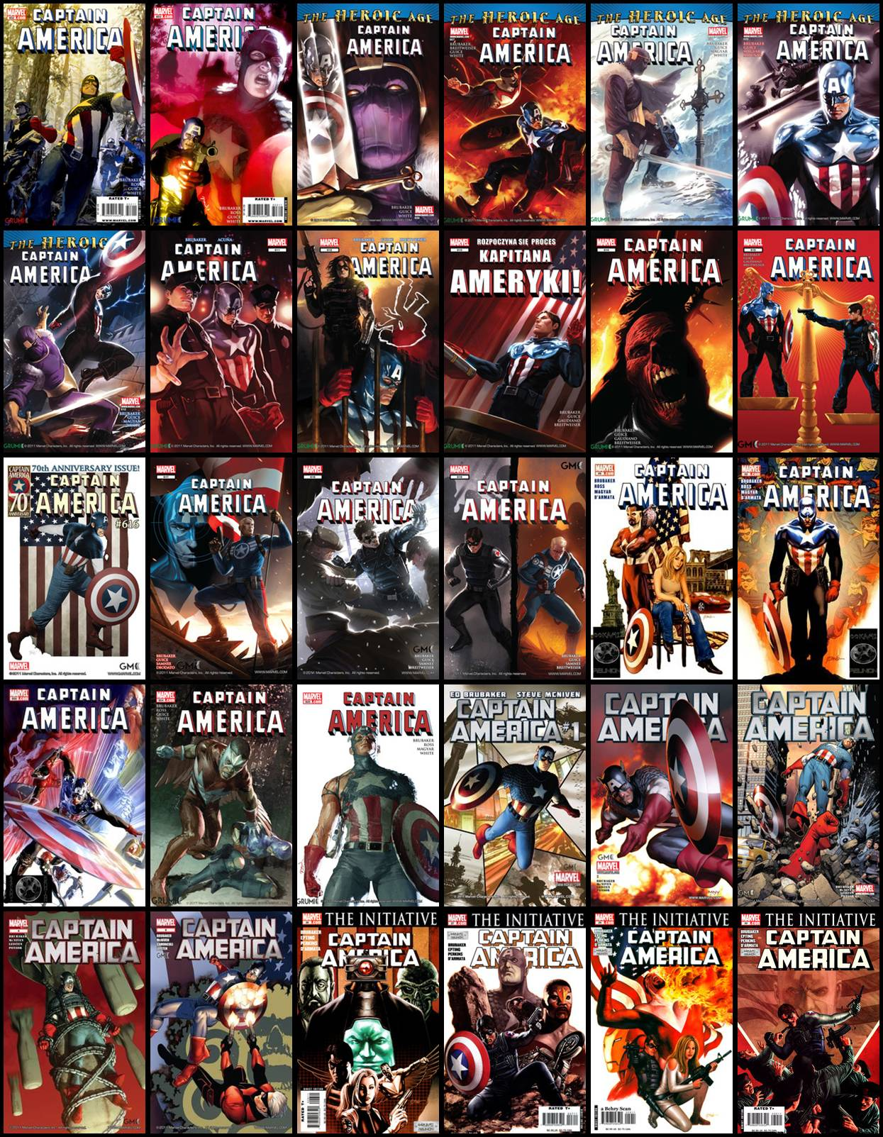 Kapitan Ameryka - Różne Komiksy