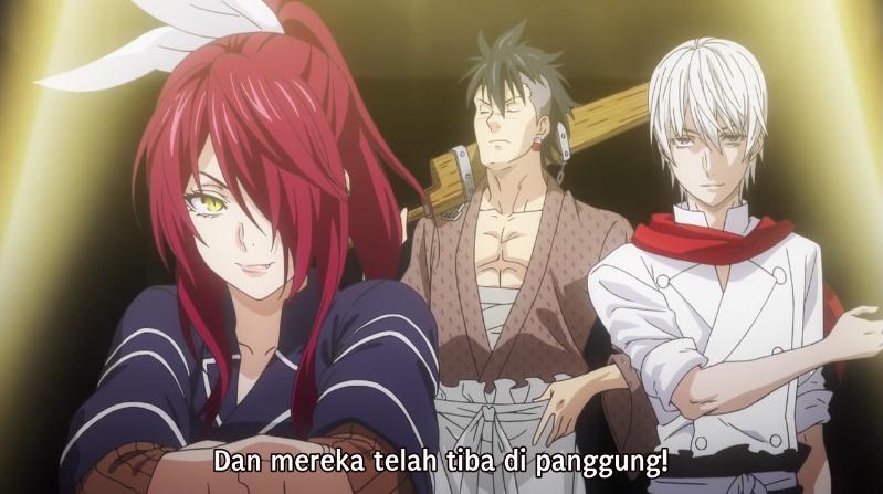 Shokugeki no Souma Season 4 Episode 1 Subtitle Indonesia
