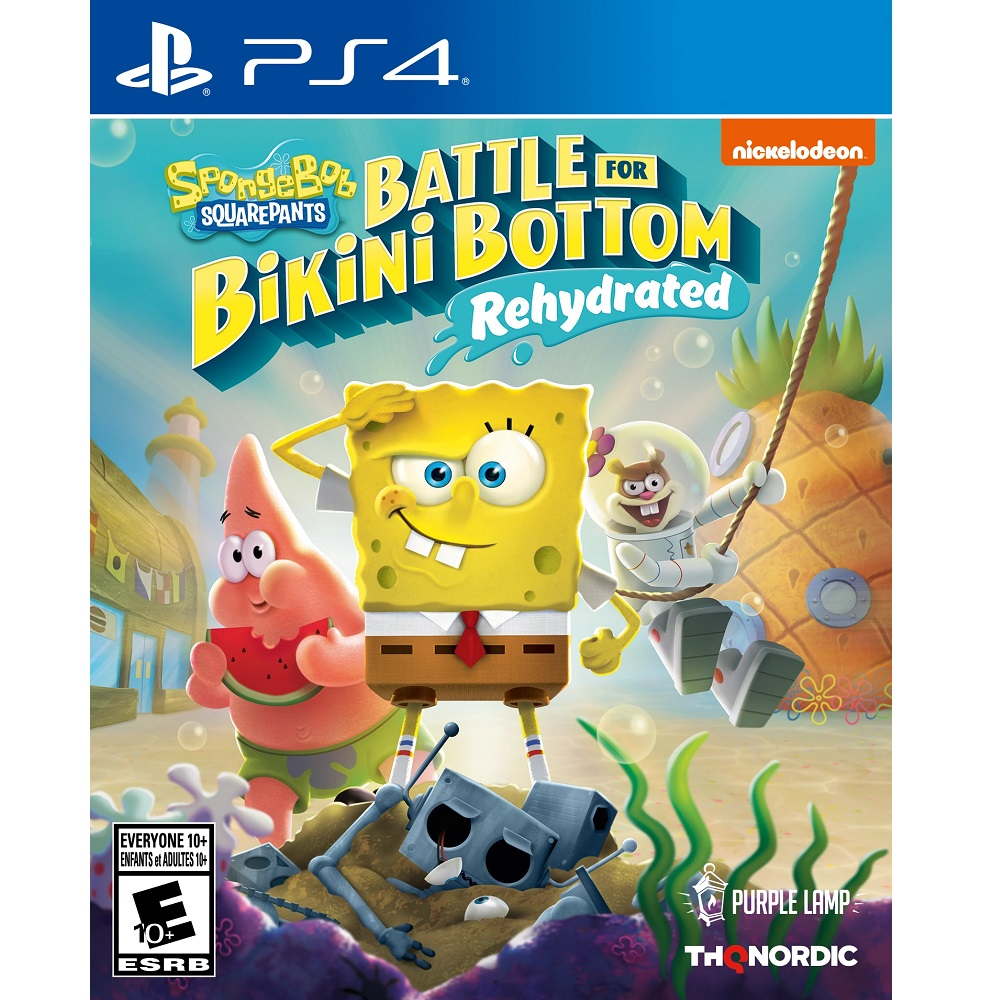 PS4 Sponge Bob SquarePants Rehydrated (Premium) Digital Download