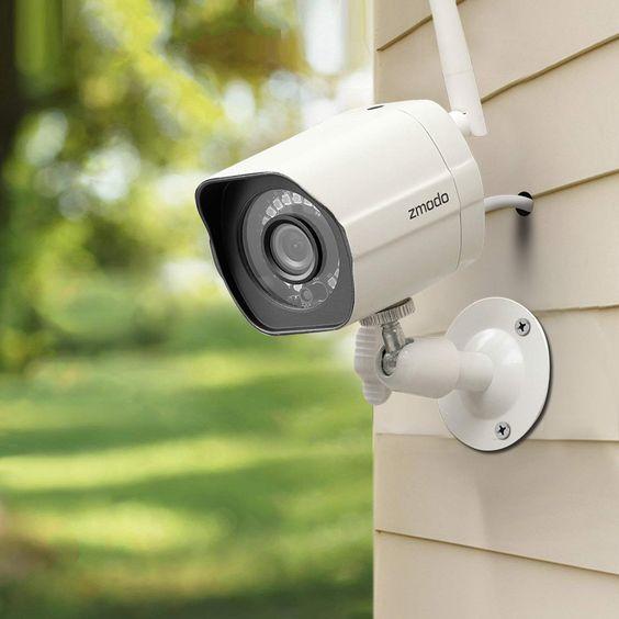 Камеры наблюдения для частного дома с новой технологией РоЕ