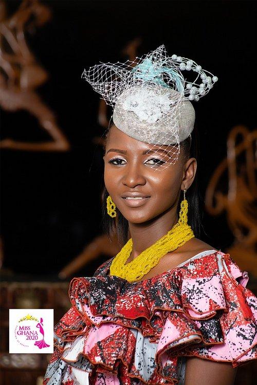 candidatas a miss ghana 2020. final: 21 de agosto. 9