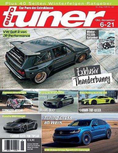 Cover: Eurotuner Magazin No 06 Oktober-November 2021