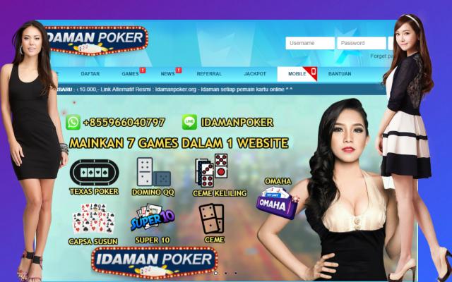 IdamanPoker Situs Poker New Member 4