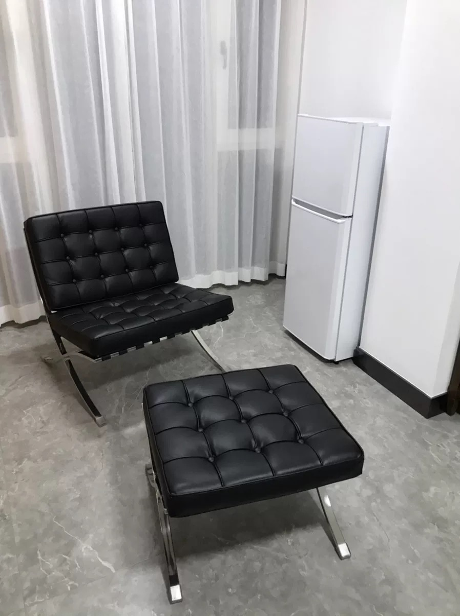 Barcelona Chair And Footstool