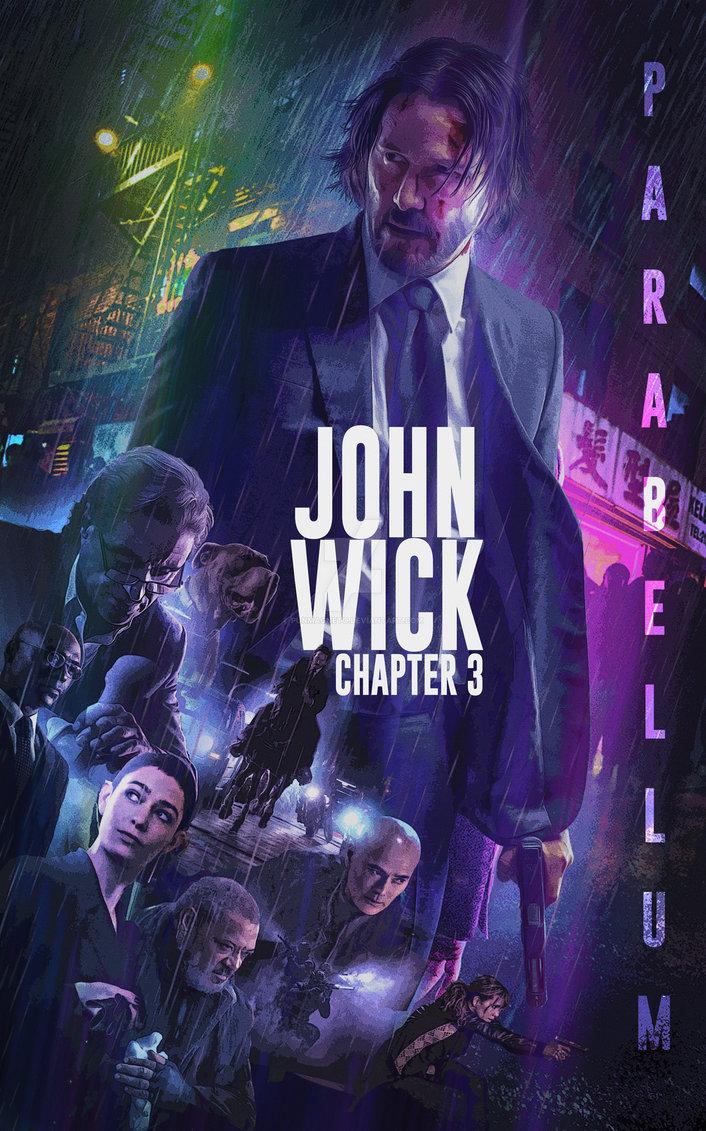 John Wick Chapter 3 – Parabellum (2019) English HDRip 720