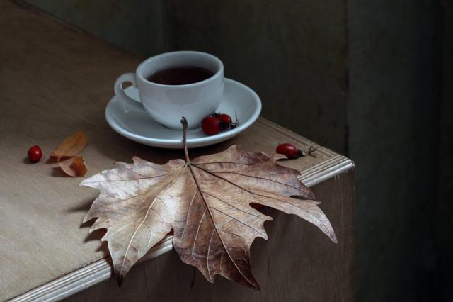 Осенний блюз. 3-й этап. Осенние листья *