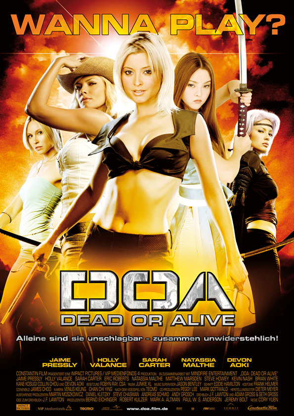 DOA: Dead or Alive 2006 Hindi Dual Audio 720p BluRay ESubs 650MB   300MB Download
