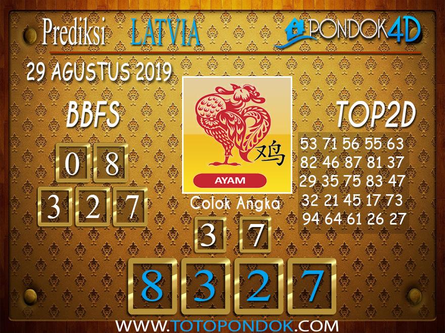 Prediksi Togel LATVIA POOLS PONDOK4D 29 AGUSTUS 2019