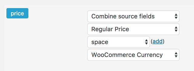 combine source fields