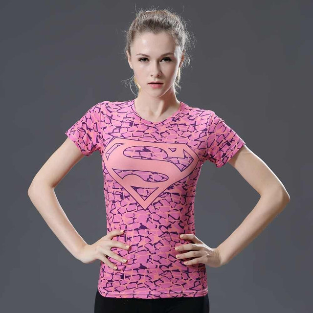 2019-Summer-quick-dry-compression-top-fashion-sports-T-shirt-3-D-printed-female-superhero-top-tight-