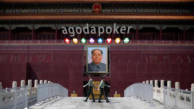 HUT China, Xi Jinping Membungkuk di Hadapan Patung Mao Zedong