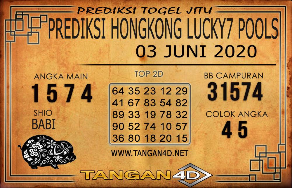 PREDIKSI TOGEL HONGKONG LUCKY 7 TANGAN4D 03 JUNI 2020