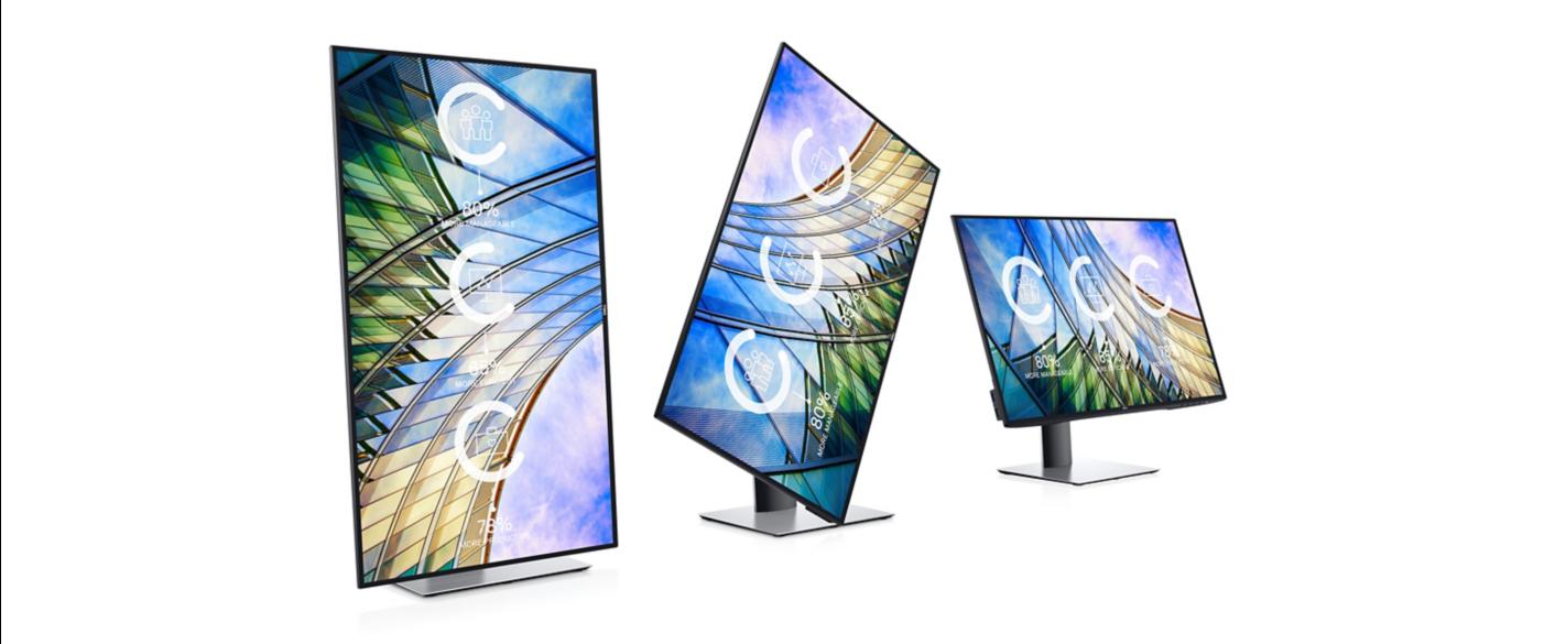 "Dell UltraSharp 27"" InfinityEdge U2719D Monitor - 210-ARBR 8"