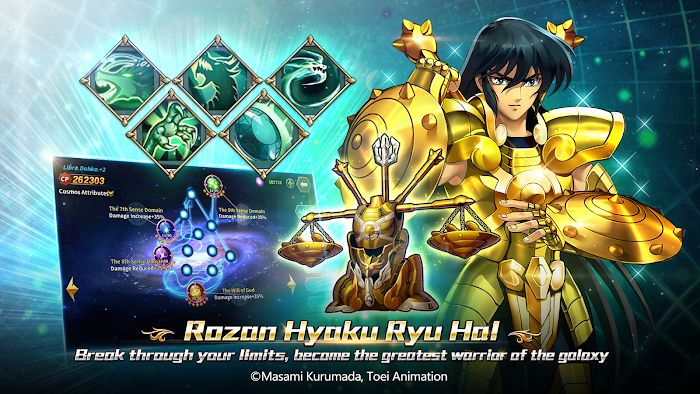Saint Seiya: Galaxy Spirits (MOD, Damage/God Mode)