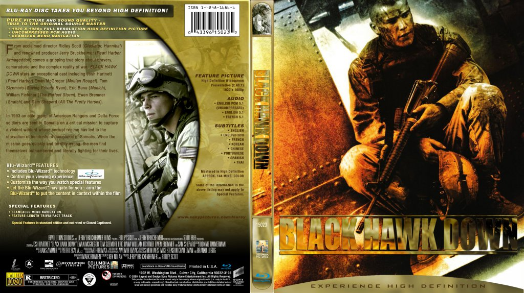 Black Hawk Down (2001)Open Matte|1080p|x265|10Bits