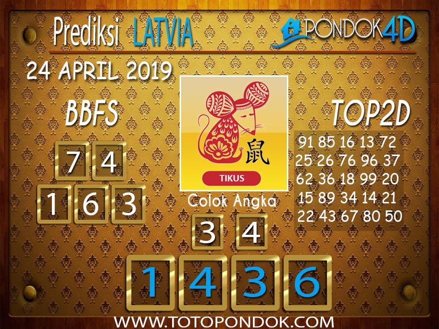 Prediksi Togel LATVIA PONDOK4D 24 APRIL 2019
