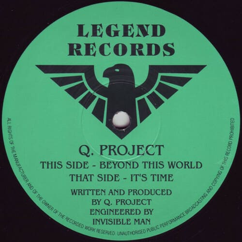 Download Q. Project - Beyond This World / It's Time mp3
