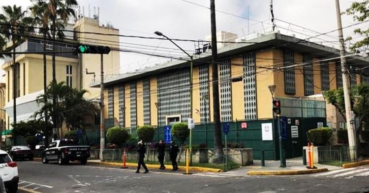 Arrojan granada a Consulado de EU en Guadalajara