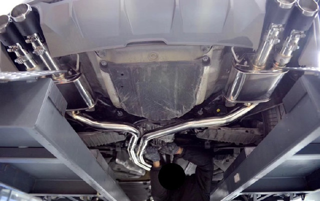 2018 Audi S5 B9 Armytrix Downpipe + Cat-Back Valvetronic